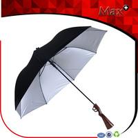 Personality gun handle straight men umbrella big size