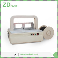 ZD-08 Mini Desktop Automatic Gift Wrapping Strapping Machine Working on Anti-static Strip