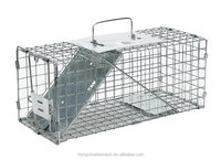 HUMANE TRAP POSSUM CAGE LIVE ANIMAL CATCH FERAL CAT RABBIT HARE BIRD RAT GIANT