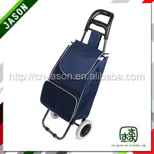 foldable luggage cart clothes hanger bar