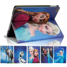 Wholesale Frozen Elsa Case for iPad Air 2, for iPad Air 2 Leather Case