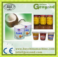 shanghai genyond complete canned fruit food Canning /canning processing machine/line/equipment
