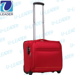 Multifunction business suitcase 16inch trolley luggage
