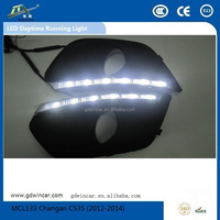 (2012)Factory Quality Assurance day light Water proof Led Drl Auto Accessory for Changan CS35 Led Daytime Running Light
