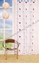 embroidery blackout curtain