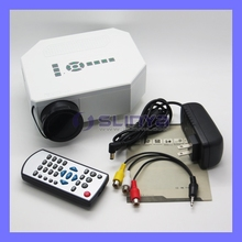 UC30 Model 640 x 480 Native Pixels Support 1080P LED Projector 12V