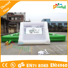 Crazy Fun Inflatable Game Mini Football Pitch For Sale