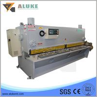 QC11K CNC dydraulic guillotine shearing machine, hydraulic sheet metal cutting machine, steel shearing and cutting machine