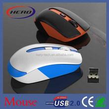 2.4g wireless mouse 1000dpi mini mouse popular optical mice