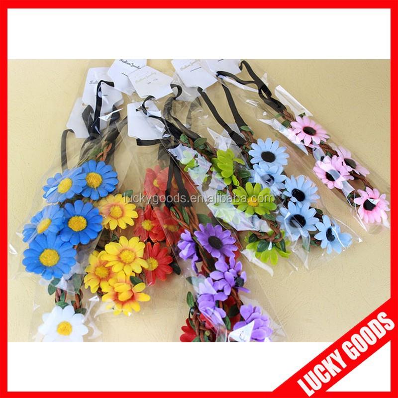Bulk Personized Artificial Flower Head Wreaths Buy