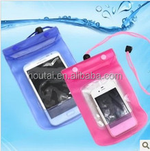 PVC waterproof camera bag dry bag with velcro closure