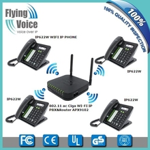 wireless ip pbx system with wifi ip phones,voip router, IP fax APX9102