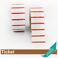 Hong Kong Manufacturer High Quality Roll Hangtag Ticket