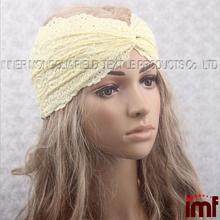 Lace Headband Crochet Pattern
