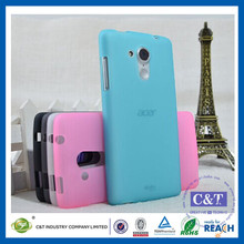 C&T China Cellphone Accessories Soft Rubber TPU Gel Case Cover for acer liquid z220