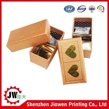 2015 new hot sale fancy paper chocolate gift packaging box