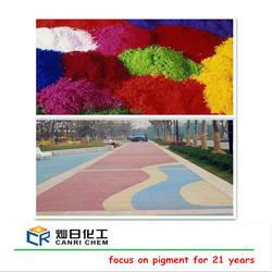 best pigment quality fe2o3 powder iron oxide pigment for concrete/asphalt/glass