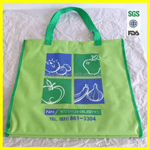 Recyclable carrier bag fashional nylon shopping bag