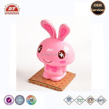 high quality rabbit shape ABS figure