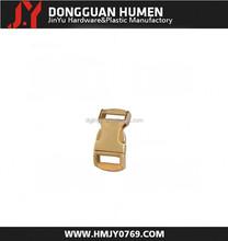 Jinyu high quality fancy metal curved bag buckle