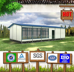 2015 New Design SGS Test Modern prefab cabin container house