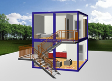 cheap prefab modular modern container house for sale in australia china supplier