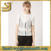 top grade o neck fashion t shirts manufacturers women in china