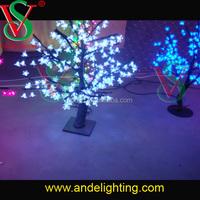 LED Christmas holiday cherry blossom tree branch lights outdoor light