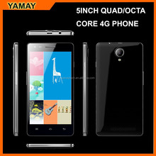 factory Unlocked Cell Phones 5inch quad core mobile phone 4g lte, android 5.0 mobile phone, 8.0 mp camera smartphone