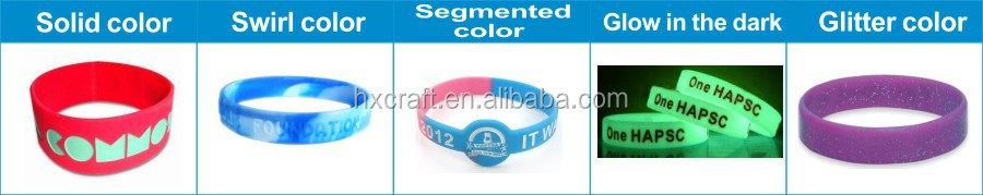 2015 factory direct supply cheap event promotion custom silicone bracelet