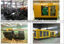 10-2000kw Silencioso/ Abrir conjunto generador (también suministrar las piezas de repuesto)