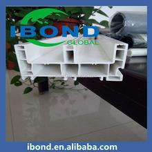 ISO Standard plastic type window and doors upvc profile