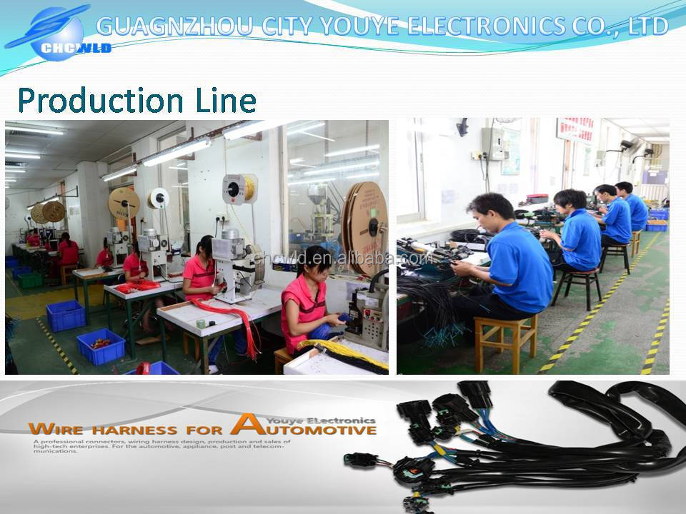 Automotive wire harness power cable youye manufacturer factory