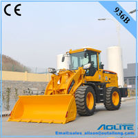 tractor front loader with snow blower
