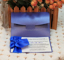 Popular low price updated latest oriental wedding card