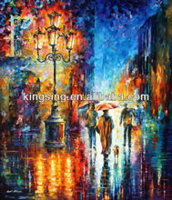 handmde oil painting on canvas with high quality skill for decoration