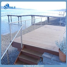 Stals new product expert manufacturer stainless steel tube handrail cable railing