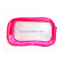 High Quality Clear Plastic Promotional PVC Zipper Cosmetic Bags