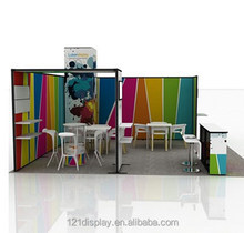 Reusable Easy assembled Standard 6x6 Display Booth