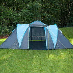 Luxury family big camping tents 5 with 2 rooms