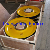 pulleys block and tackle for cargo crane