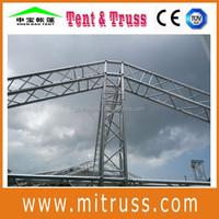Small spigot stage truss, circle box lighting truss hot sale