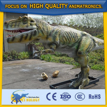 2015 life size animatronic emulation realistic robotic dinosaur statues