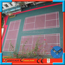 professional interlocking badminton equipment