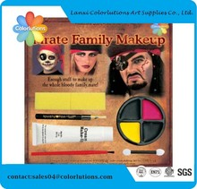 Neon face paint sticker wholesale,buddha face painting