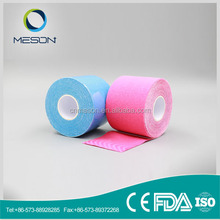Free sample good air-permeability multifunction sport tape