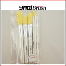 High quality professional synthetic cosmetic makeup brushes set