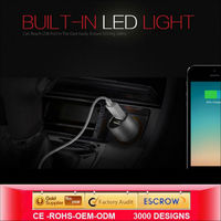 2014 2 In 1 Dual Usb Car Charger For Andriod Smart Phone Manufacturers & Factory