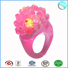 Party Favor LED Flashing Rubber Ring