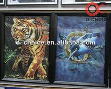 3d decorativo modernas imagens de animais de tigre
